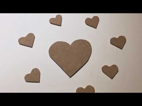 Wooden Heart DIY EASY