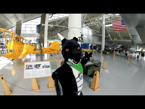 Pool Party 2018 Fursuiting: Evergreen Aviation Museum