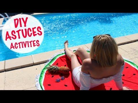 DIY ASTUCES ET ACTIVITES  ETE / SUMMER⎮Reva ytb
