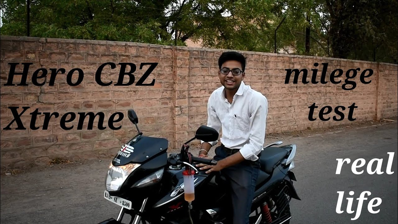 Hero CBZ Xtreme mileage test