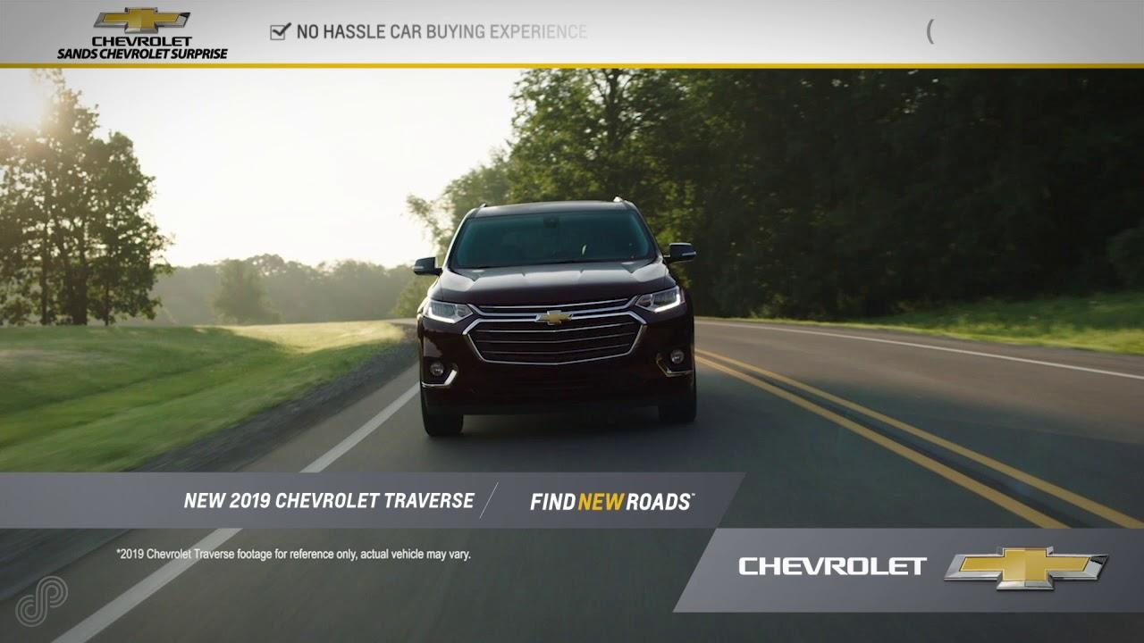 Sands Chevrolet Surprise Az >> 2019 Chevrolet Traverse Offer Sands Chevrolet Surprise June Sp 2