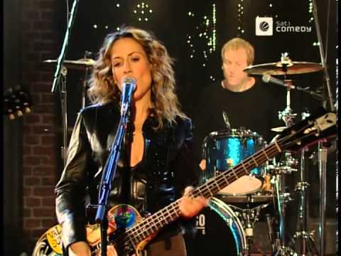 Sheryl Crow - Soak Up The Sun - 2002-03-27, Live @ Harald Schmidt Show