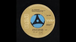 YEAR OF THE CAT / AL STEWART VINYL 45rpm 1977