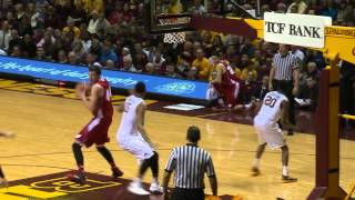 Highlights: Gophers Upset No. 9 Wisconsin 81-68