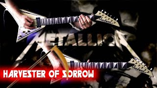 Metallica - Harvester Of Sorrow FULL Guitar Cover