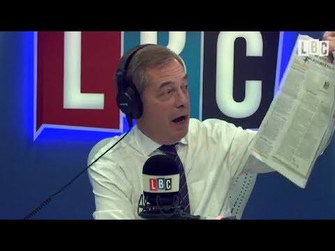The Nigel Farage Show - LBC - Theresa May's Letter to EU Citizens - 11/12/2017