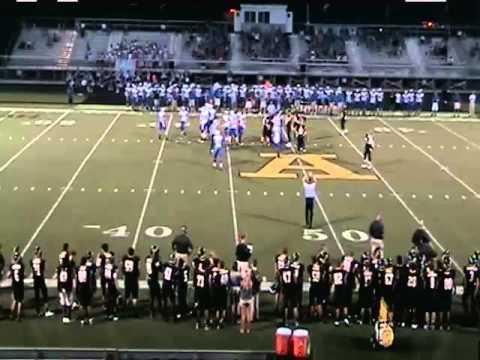 6A - T#8 Hamilton Southeastern Royals at 6A - #13 Avon Orioles - High School Football - 9/5/2014
