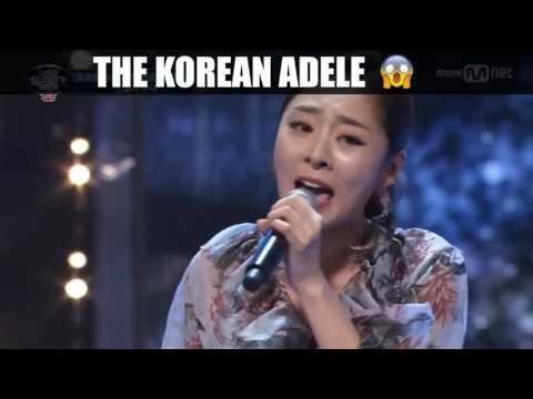 Suara Nya Bikin Merinding The Korean Adele  When We Were Young