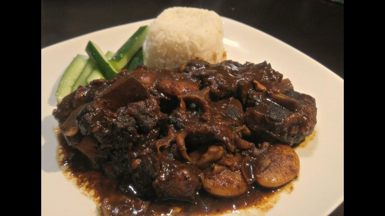 how to cook jamaican oxtail