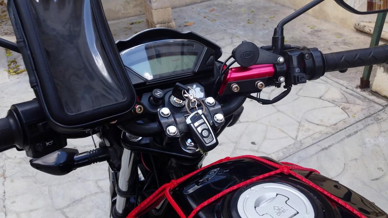 Honda CB 150 Invicta. Modificada. - YouTube