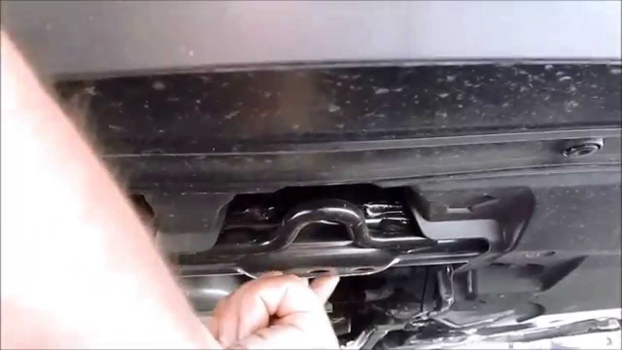 2013 2014 2015 Honda Accord Floor Jacking Point Youtube
