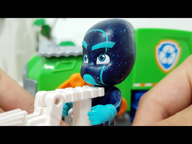 paw patrol go! Take the car and defeat the villains! ❤️ RACHAMAN TOY