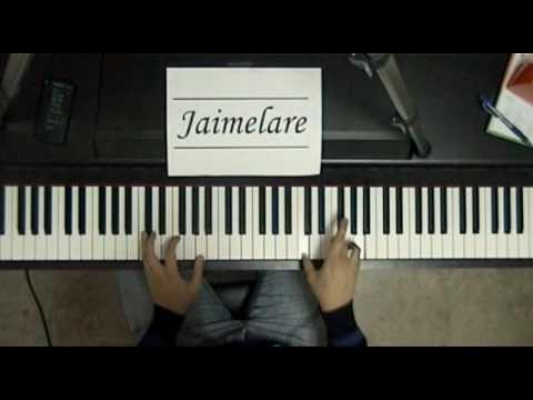 Cumplea os feliz happy birthday piano by jaimelare youtube - Cumpleanos feliz piano ...