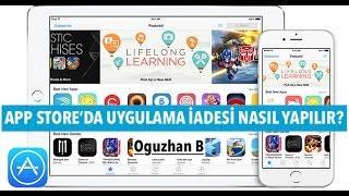 App Store'dan Aldığımız Ücretli Uygulamayı İade Etmek (Para İadesi)
