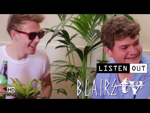 Bondax - BLAIRE MAGAZINE Interview at LISTEN OUT Melbourne 2014