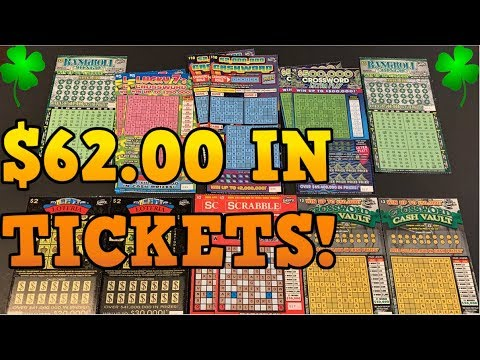WE FOUND WINNERS! 2 MILLION DOLLAR TOP PRIZE LOTTERY SCRATCH OFF TICKETS💰