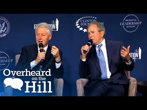 Clinton And Bush: A Bromance For The Ages | Overheard On The Hill | msnbc