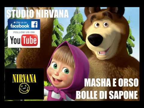 MASHA E ORSO - BOLLE DI SAPONE - GIORNO DI BUCATO