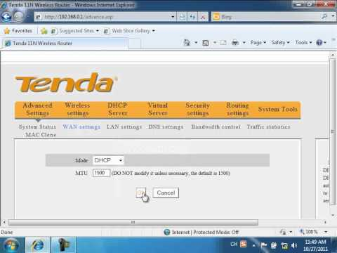 How to Configure Dynamic IP on Tenda Routers