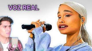 Escuchando la VOZ REAL de Ariana GRANDE sin AutoTune   Vargott