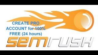 How to Create Semrush Pro Account For Free (24 hours) No Credit Card