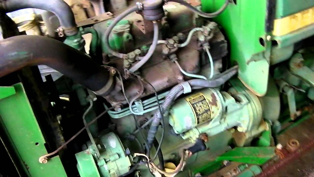 John Deere 950 Complete Running Motor Youtube