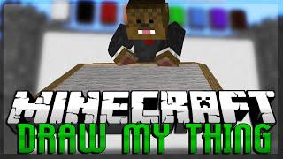 PIKACHU? Minecraft Draw My Thing w/ HuskyMudkipz