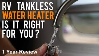 RV Tankless Water Heater. Should I Get One? (Pros vs Cons)