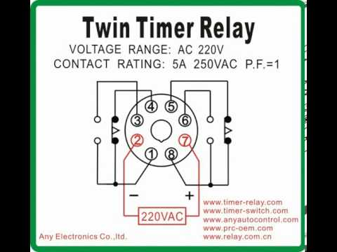 Timer Wiring Diagram Aem Wideband Twin Relay 2 - Youtube