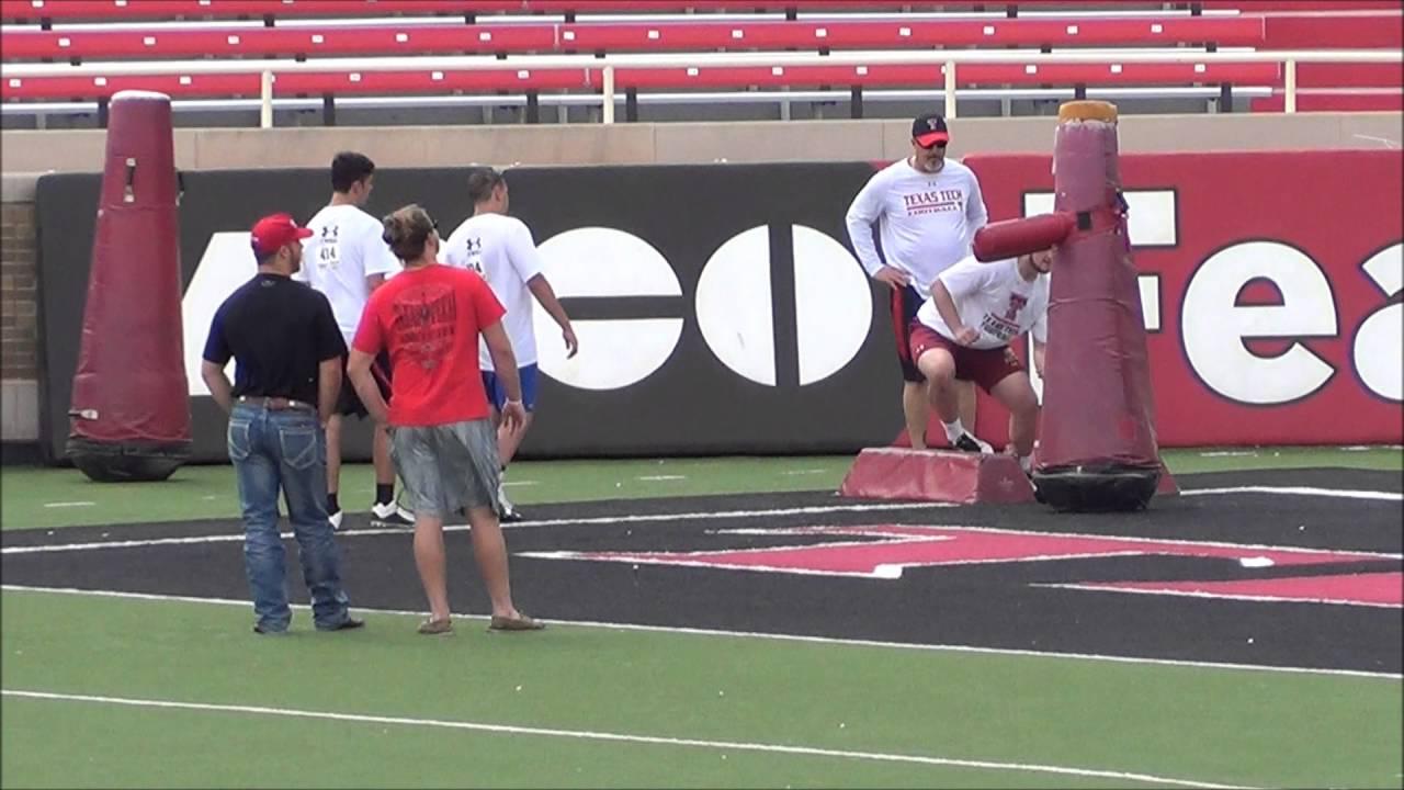 2016 Texas Tech Football Camp Youtube