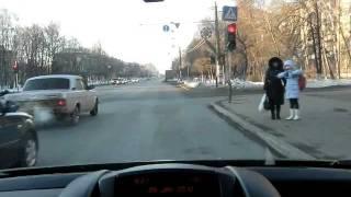 Видео проезда от кинотеатра Москва (Н.Новгород)(, 2012-01-29T18:38:55.000Z)