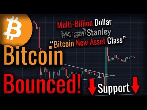 "Bitcoin Got Support! – ""Bitcoin New Institutional Investment Class"""