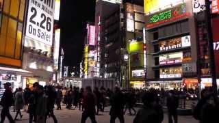 Shibuya Tokyo Japan in 2014 - Vacation of Bobby Knight