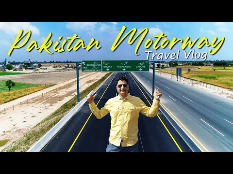Pakistan or Europe? Travel on Motorway from Peshawar to Lahore
