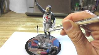 Building Verlinden Productions Knight of Christ In 120mm Scale