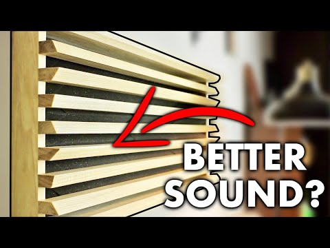 How To Make Your Speaker Room Sound Better (FAIL?) || DIY Acoustic Wall Treatment