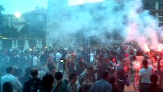 Çarşı Gezi Parkı'na giriyor (4 Haziran 2013)
