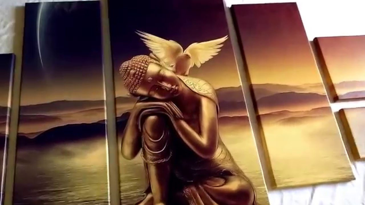 Eutisona Cuadros Buda ángel YouTube