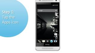 HTC One Mini: Turn off/on data roaming services
