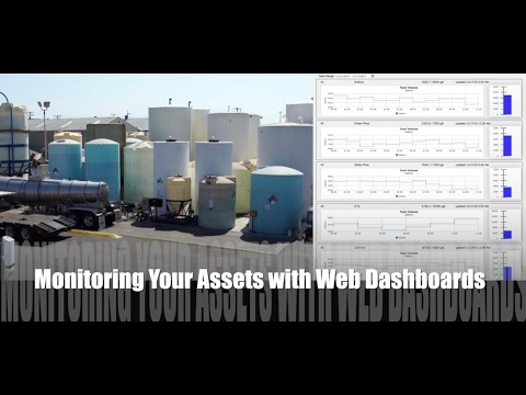 Tank Monitoring - Industrial IoT Dashboards to Remotely Monitor Your Tanks, Equipment, & Assets