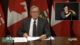 Ontario health official provides COVID-19 update – September 28, 2020