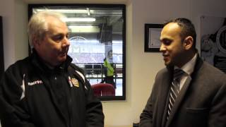 Dennis Woolford MKDons Sport and Education Welfare Trust Interview