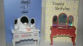 Cut And Craft 3d Card Making And Keepsake Templates