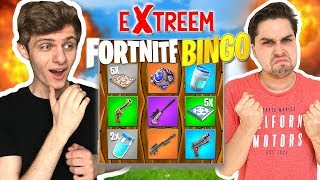 Fortnite Bingo met Verrassingen! 😱 - Extreme Fortnite Bingo Playground