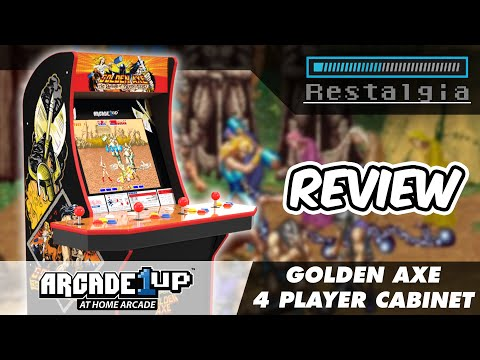 Arcade1UP Golden Axe Full Review and Gameplay from Restalgia