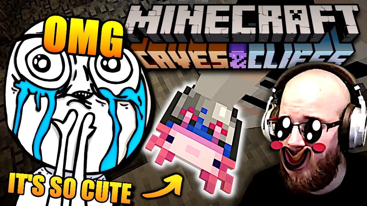 No není tohle nejvíc CUTE RYBIŠKA?! | Minecraft 1.17 update