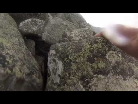 Katahdin Hiking: Dudley Trail GoPro