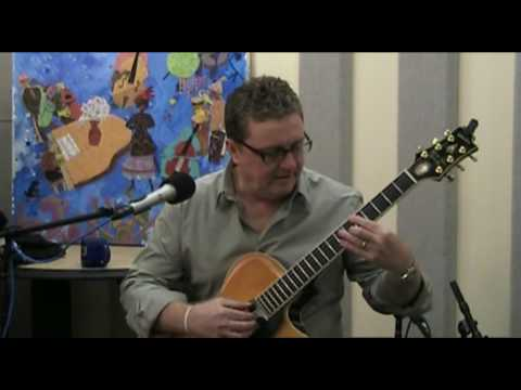 "Martin Taylor Performs ""Stompin' at the Savoy"" Live in KPLU Studios"