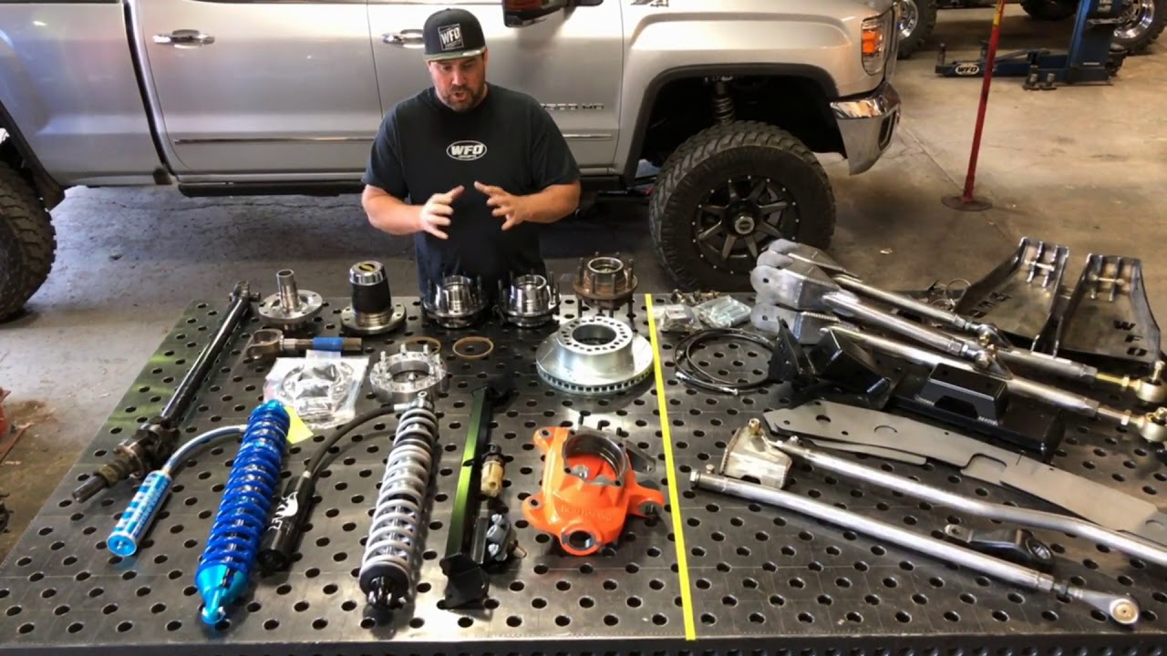 Duramax Straight Axle Swap kits and Components - WFO Concepts