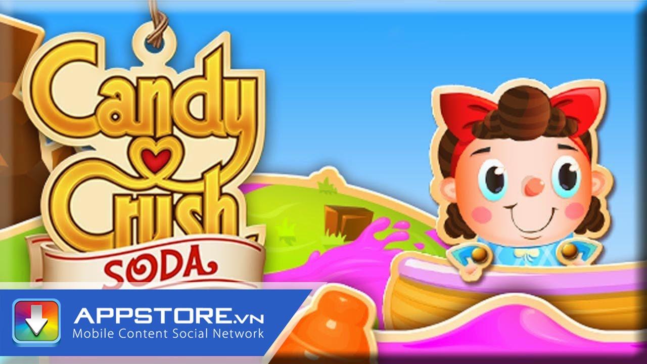 [Game] Candy Crush Soda – Kẹo kết hợp với nước soda – AppStoreVn